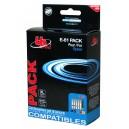 Multipack bk/c/m/y 2bk+1c+1m+1y E-61 PACK