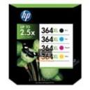 Pack de 4 cartouches haute capacité pour hp bk/c/m/y SM596EE marque HP