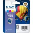 Cartouche jet d'encre couleur C13C13T020401 marque EPSON