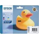 Multipack bk/c/m/y 2bk+1c+1m+1y C13T05564020 marque EPSON