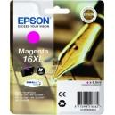 Cartouche jet d'encre Magenta C13T1633 marque EPSON 16XL (6.5ml)