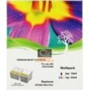 E-T40/41 PACK de 3 cartouches compatibles (2BK+1CL) pour imprimante EPSON