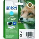 Cartouche jet d'encre cyan pour epson cyan C13T12824011 marque EPSON