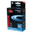 Multipack bk/c/m/y 2bk+1c+1m+1y E-44 PACK