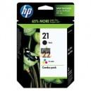 Multipack bk/cl cartouches haute capacité pour imprimantes hp noir + couleur SD367AE marque HP