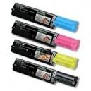 Pack de 4 toners compatibles bk/c/m/y E-PACKT1100